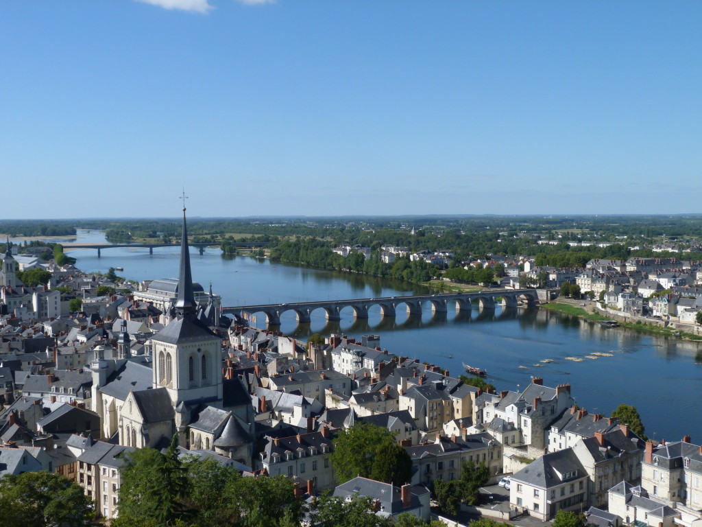 Vue de Saumur